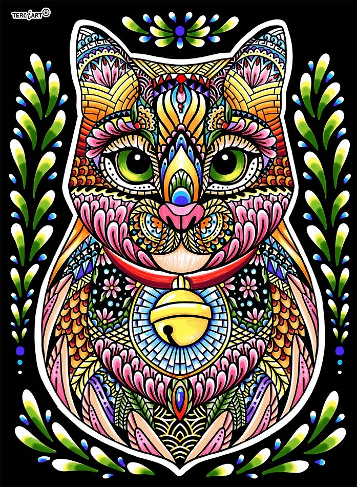 Coloriage Mandala Animaux Terciart