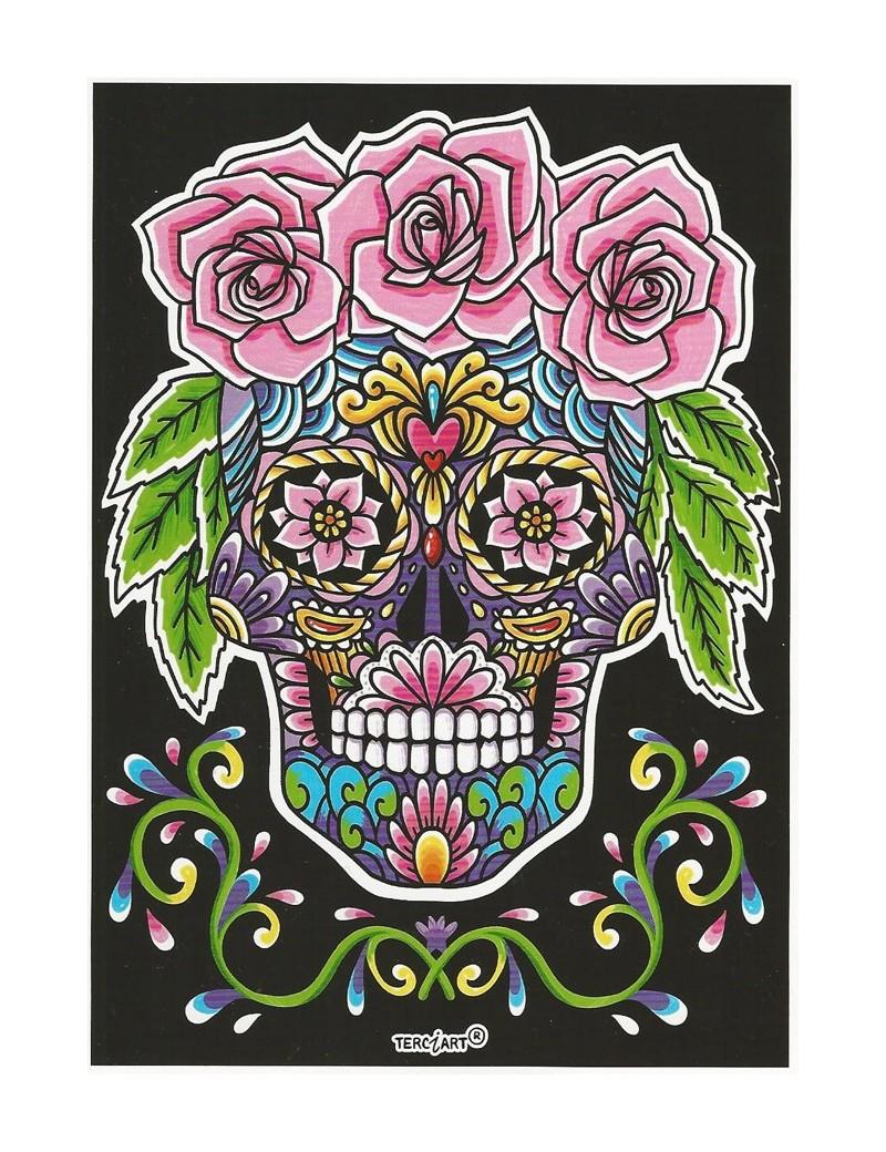 Coloriage Mandala Tete De Mort