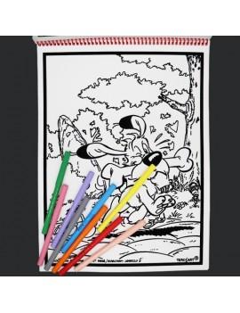 Livre de coloriages en velours asterix