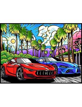 Coloriage Maserati