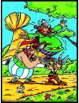 Coloriage Astetix et Obelix...