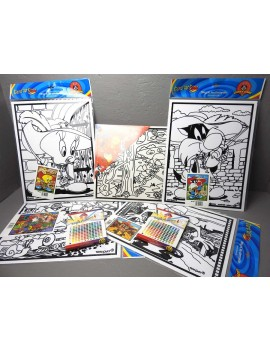 Coffret coloriage  Looney