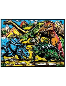 coloriage dinosaure 4