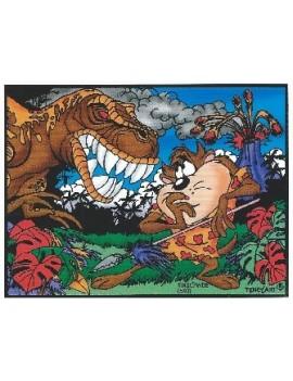 Taz et le dinosaure