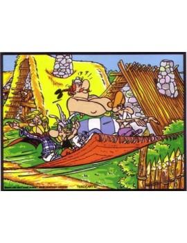 Asterix et Obelix en tapis volant