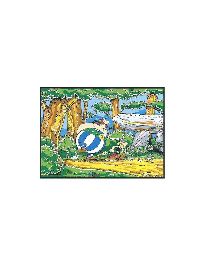 Asterix et Obelix en forêt