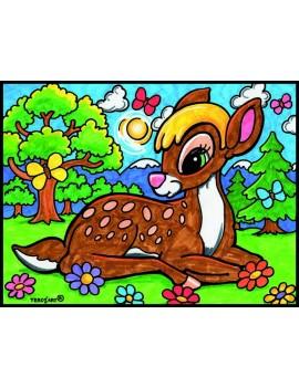 Coloriage Bambi