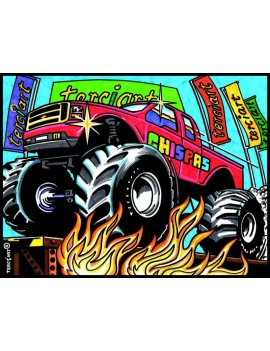 Coloriage Monster trucks